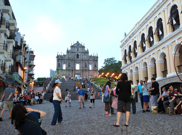The Ruins of St Paul's and the Leal Senado Square, Macau
