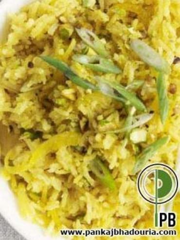 Pistachio rice