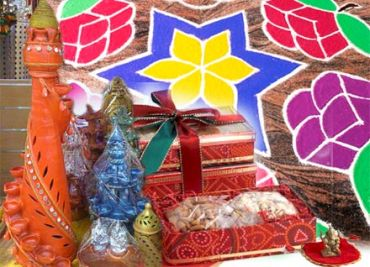 'We gave out beautiful wooden boxes containing the entire puja samagri'