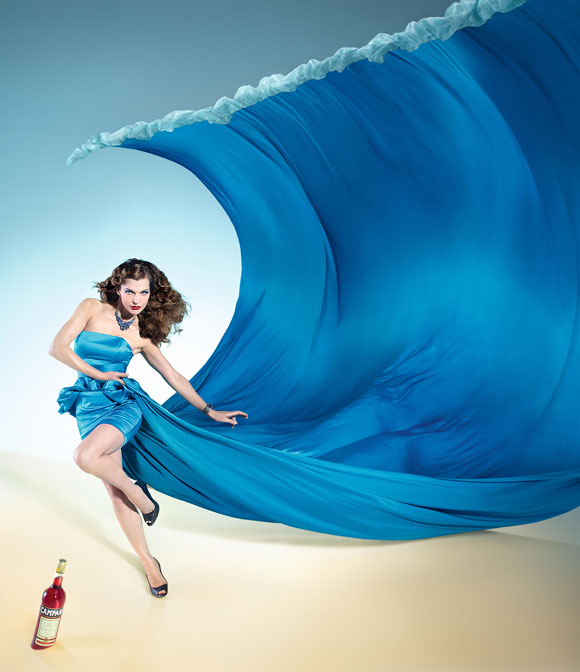 Milla Jovovich for Campari