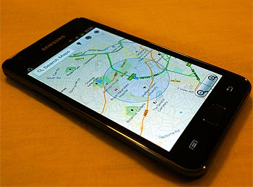 Google Maps and GPS works accurately