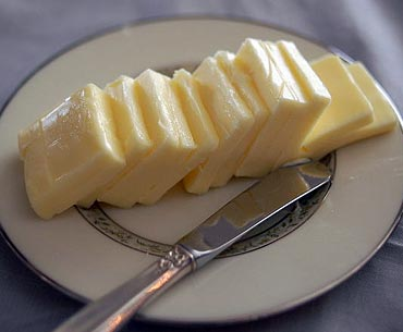 Dairy foods like butter and cheese were linked with long-term weight gain