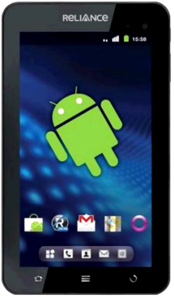 The critical point with the Reliance 3G Tab is the price