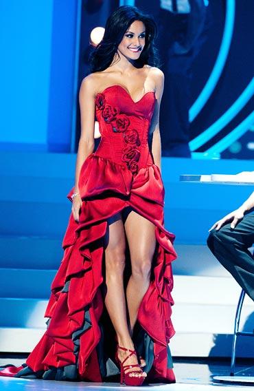 Miss Costa Rica Johanna Solano