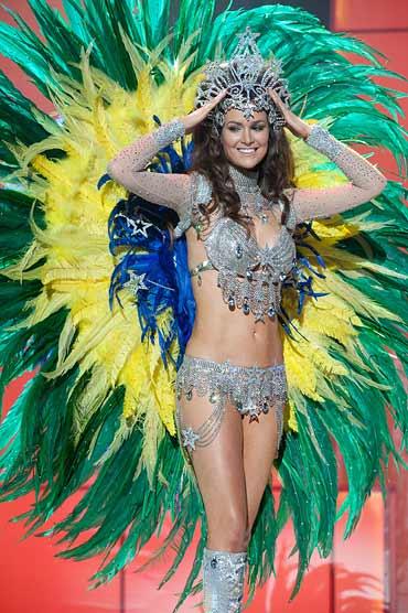 Miss Brazil Priscila Machado