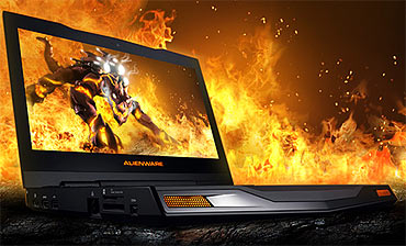 Alienware M11x ultraportable gaming notebook