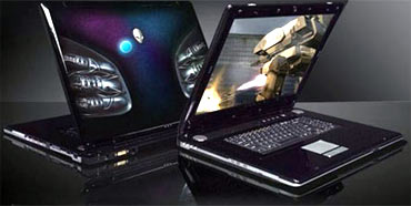 Aurora Alienware mALX notebook