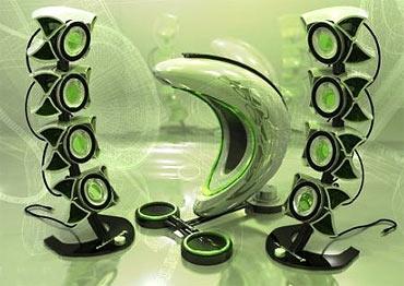 Alienware speaker system