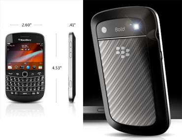The thinner BlackBerry