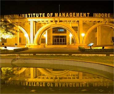An MBA at IIM-Indore costs Rs 15 lakh