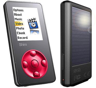 Shiro portable media player