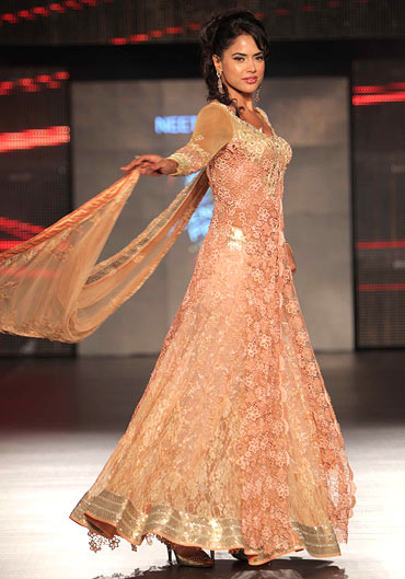 Sameera Reddy for Neeta Lulla