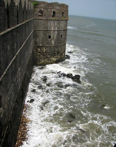 The Janjira fort