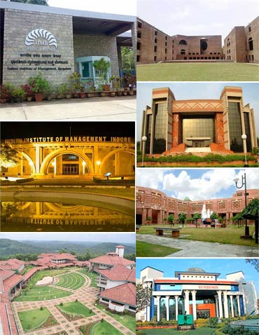 Top Indian business schools 2012