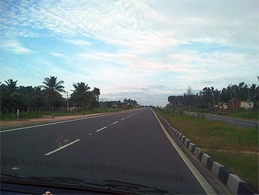 NH48 enroute to Chikmagalur