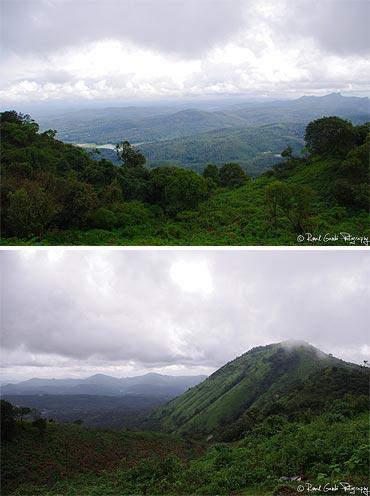 Mullayanagiri is the tallest peak in Karnataka at the height of 1930 meters