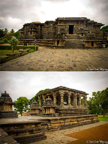 Halebidu temple was built in 1121 AD by Ketumalla -- the chief of staff of Hoysala Kingdom