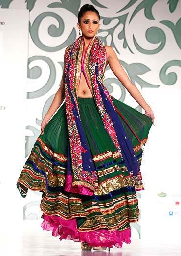 A festive design by Nisha Sagar
