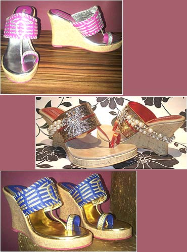 Festive footwear by Payal Kothari