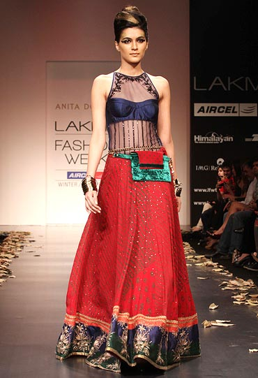 A festive design by Anita Dongre