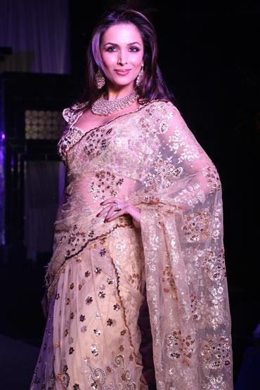 Malaika Arora Khan for Bhairavi Jaikishan