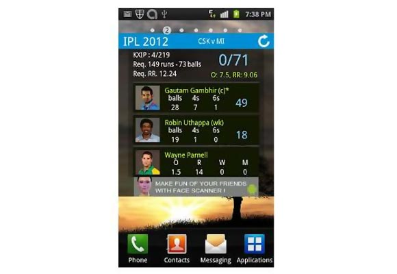 TOP FIVE: Smartphone apps for Indian Premier League
