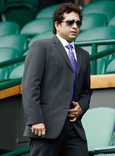 Sachin Tendulkar is most business-like in his formal jacket