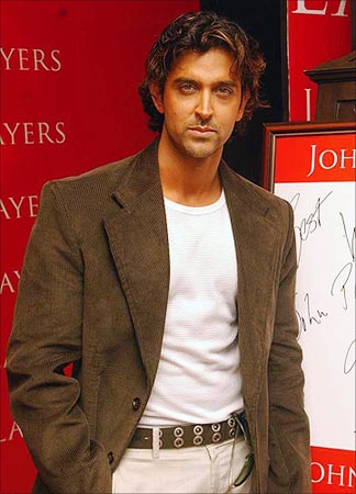 You can never go wrong with a jacket like Hrithik Roshan has on here