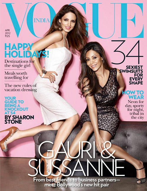 Sussanne Roshan and Gauri Khan