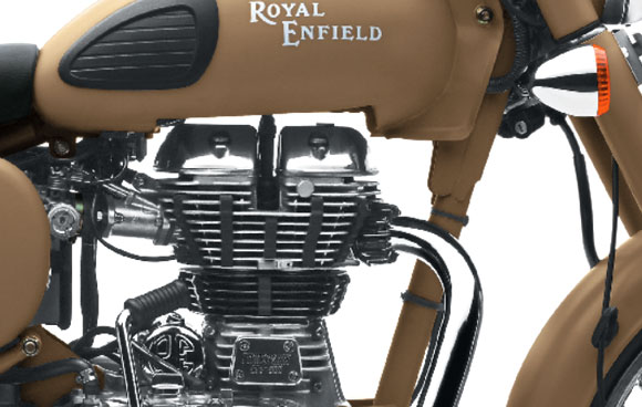 PICS: 5 STUNNING features of Royal Enfield Desert Storm