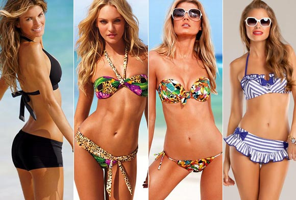 IMAGES: Sexy swimwear to flatter YOUR figure!