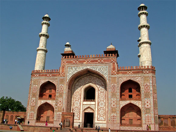 The tomb of Akbar the Great