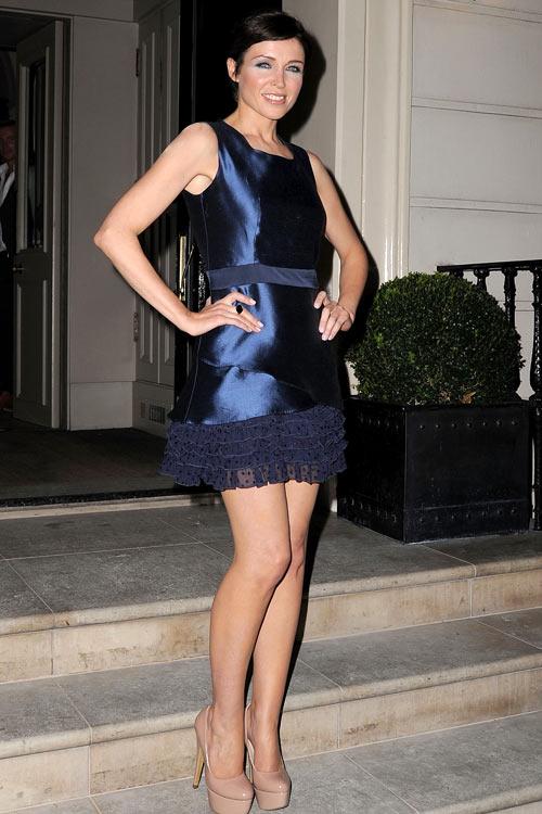 Dannii Minogue wears a Project D dress