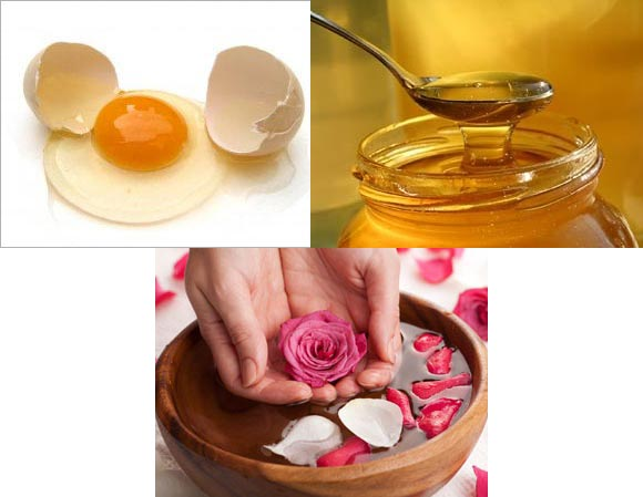 Egg-based face packs