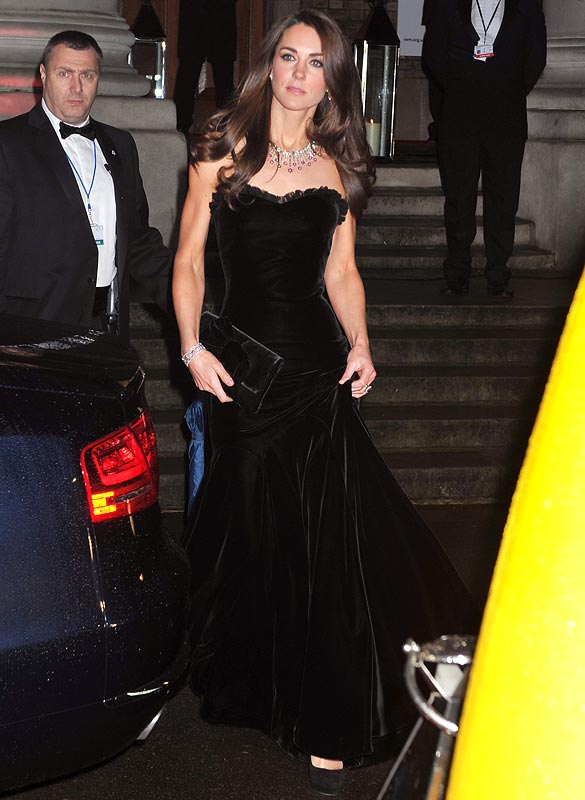 Catherine, Duchess of Cambridge attends The Sun Military Awards at Imperial War Museum on December 19, 2011 in London, England