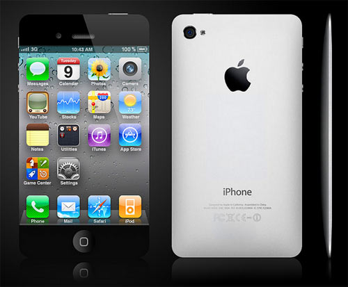Is this how the iPhone 5 will look like?