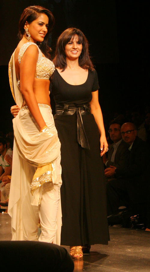 Neeta Lulla with Sameera Reddy