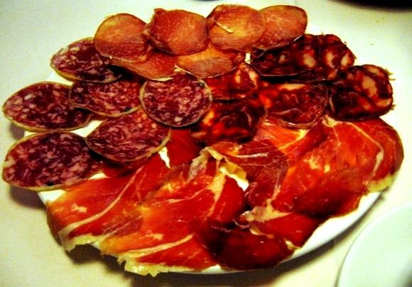 Iberian pork embutido