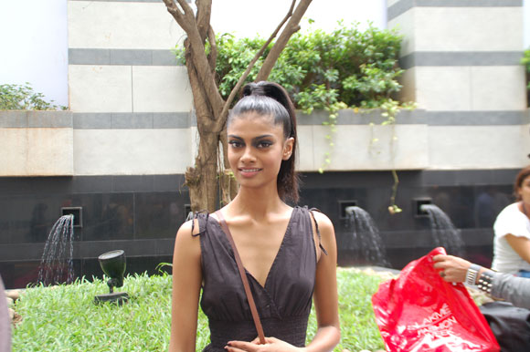 Archana Akhil Kumar at Lakme Fashion Week, Mumbai.