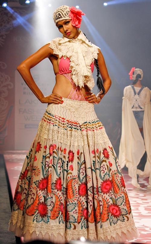 Nethra Raghuraman for Ritu Beri
