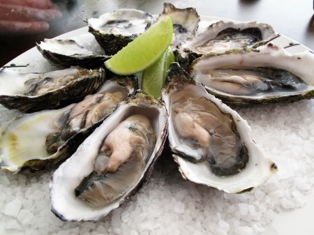 Oysters contain zinc and dopamine, which increase the libido