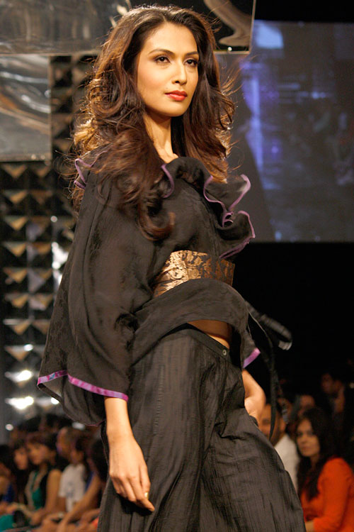 Sanea Shaikh for Priyadarshini Rao
