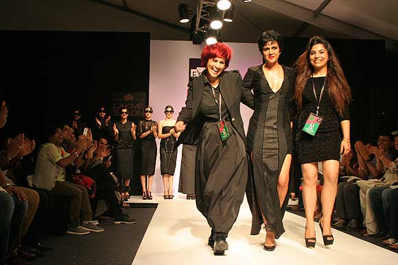 Sapna Bhavnani, Mandira Bedi and Sukriti Grover