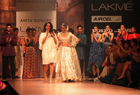 Anita Dongre and Preeti Desai