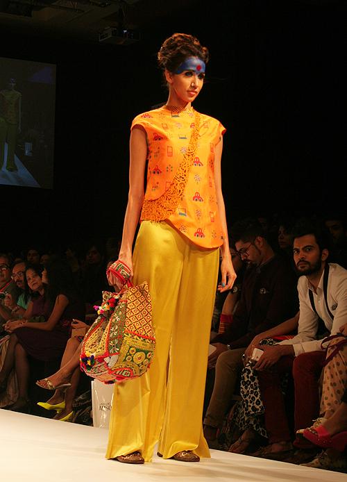 Alesia Raut for Deepika Govind