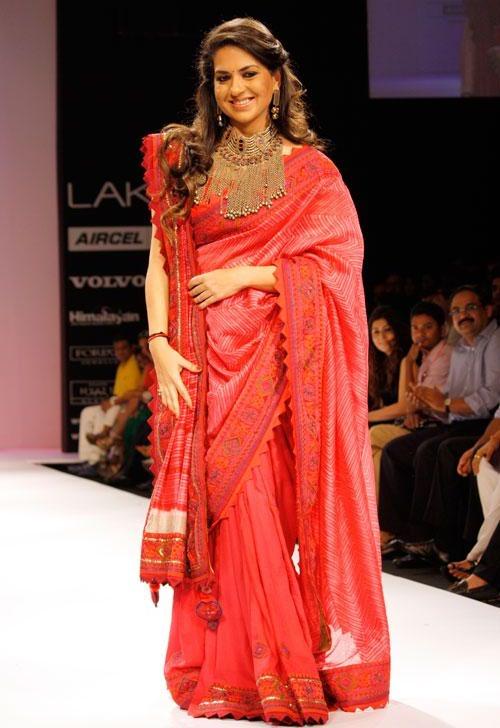 Shaina NC for Shruti Sancheti