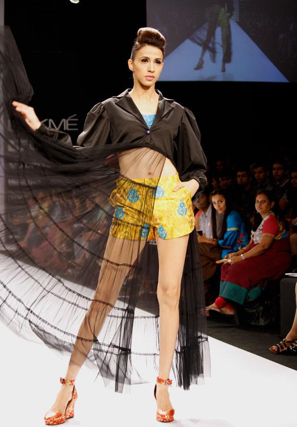 Alesia Raut for Tanya Sharma