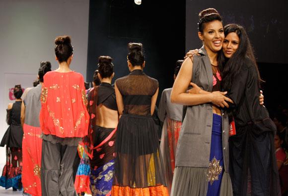 Deepti Gujral and Tanya Sharma