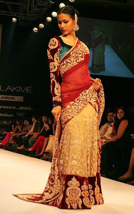 Nethra Raghuraman for Shyamal and Bhumika