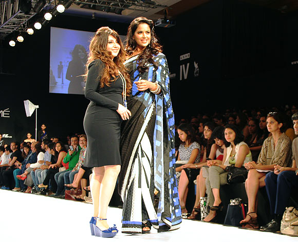 Archana Kochhar and Sameera Reddy
